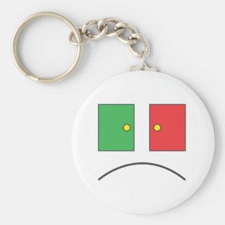 Sympathy 4 the Godless.ai Basic Round Button Key Ring
