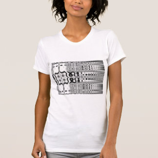 Sympathy  Black & White Fractal Tshirts