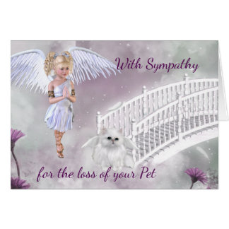 Sympathy Card for the loss of a Pet