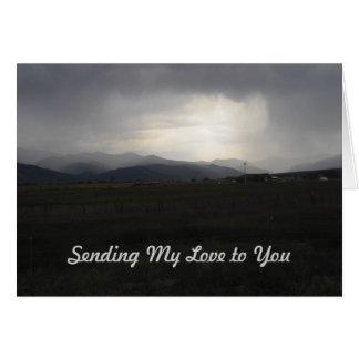 Sympathy Card Storm Brewing