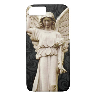 sympathy cemetery memorial Grief Gothic Angel iPhone 8/7 Case