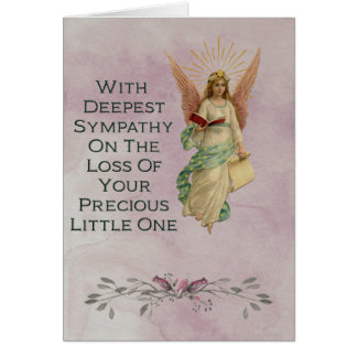 Sympathy on the loss of a baby card