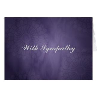 Sympathy Purple Card