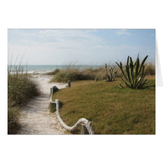 Sympathy - Seaside Pathway Card