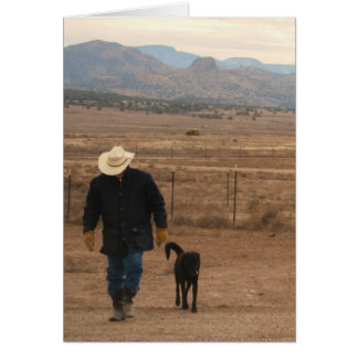 Sympathy Support & Comfort - Ranch Dog Lover Card