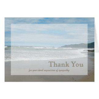 Sympathy Thank You Card Greeting Card
