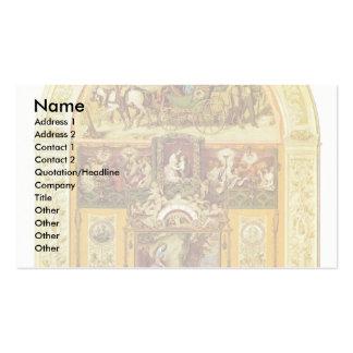 Symphony By Schwind Moritz Von (Best Quality) Business Card