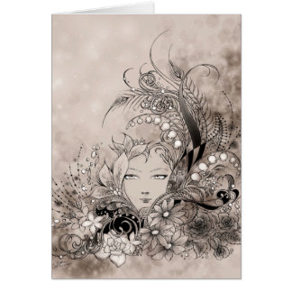 Symphony in Grey Greeting Card
