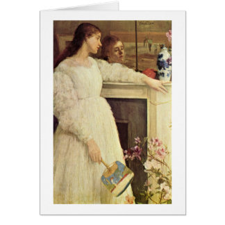 Symphony In White By James Mcneill Whistler Card