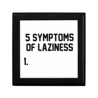 Symptoms of Laziness Gift Box
