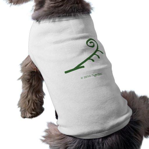 SymTell Green Impulsive Symbol Pet Tshirt