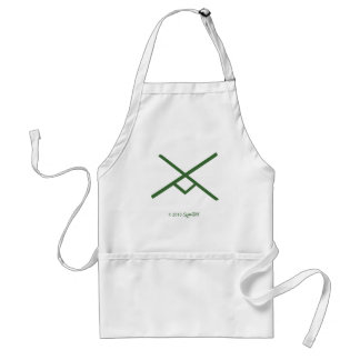 SymTell Green Industrious Symbol Standard Apron