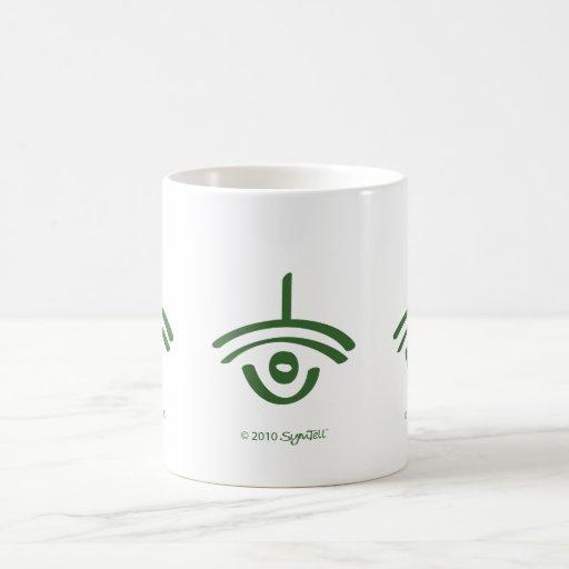 SymTell Green Sarcastic Symbol Mug