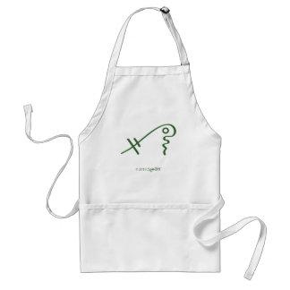 SymTell Green Spiritual Symbol Aprons