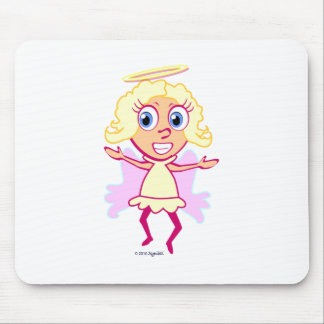 SymTell Nice Girl Toon Mouse Pad