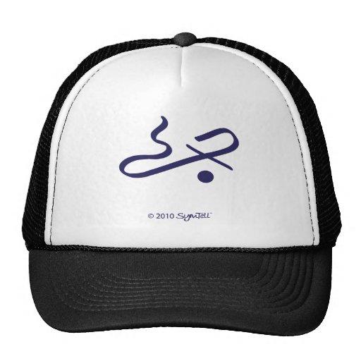 SymTell Purple Communicative Symbol Mesh Hats