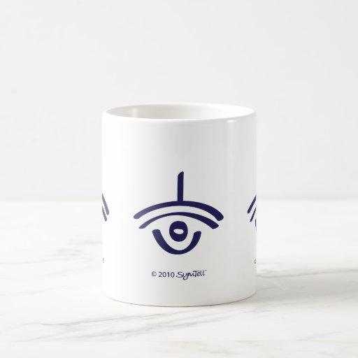 Symtell Purple Sarcastic Symbol Mugs