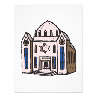 Synagogue 21.5 Cm X 28 Cm Flyer