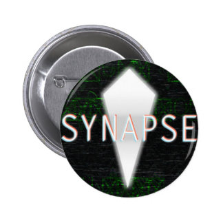 Synapse Comic: Button with Logo/Title