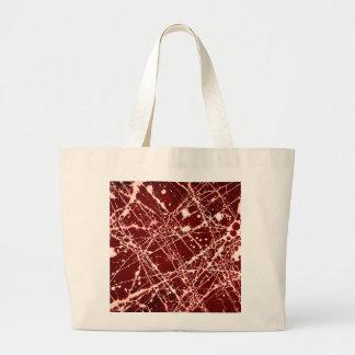 SYNAPSES (an abstract art design) ~ Jumbo Tote Bag