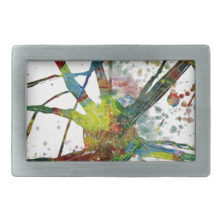 Synapses Medical Abstract Gift Belt Buckle