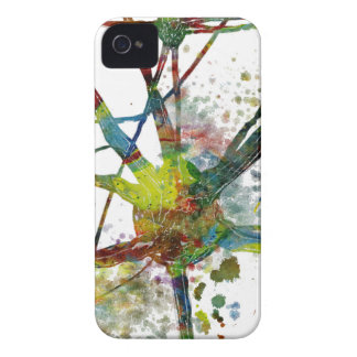 Synapses Medical Abstract Gift iPhone 4 Case