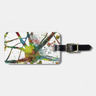 Synapses Medical Abstract Gift Luggage Tag