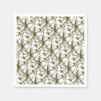 Synapses Medical Abstract Gift Paper Serviettes