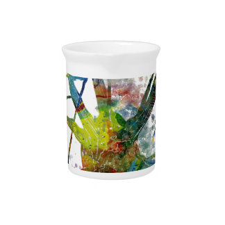 Synapses Medical Abstract Gift Pitcher