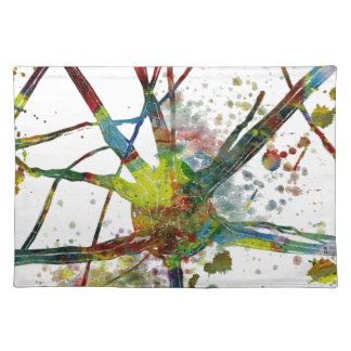 Synapses Medical Abstract Gift Placemat