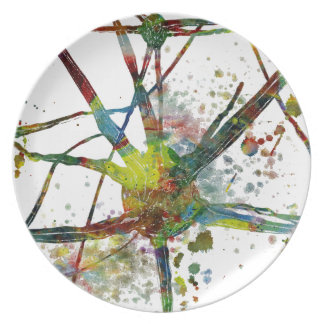 Synapses Medical Abstract Gift Plate