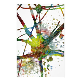 Synapses Medical Abstract Gift Stationery