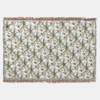 Synapses Medical Abstract Gift Throw Blanket