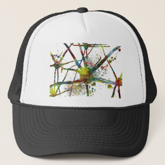 Synapses Medical Abstract Gift Trucker Hat