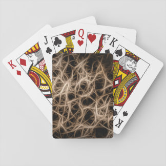 Synaptic Structure (abstract) Playing Cards