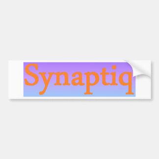 Synaptiq Society store Bumper Sticker