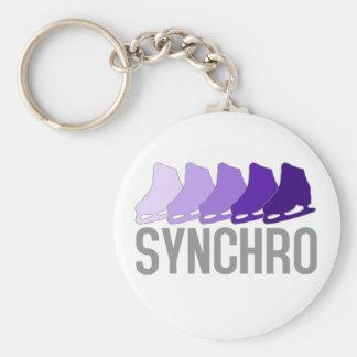 Synchro Skates Key Ring