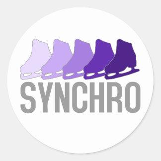Synchro Skates Sticker
