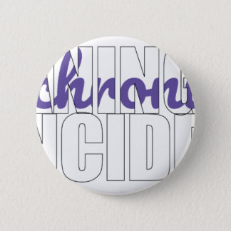 Synchronicity Meaningful Coincidence 6 Cm Round Badge