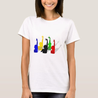Synchronised swimming USA sports T-Shirt