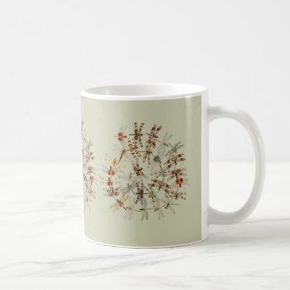 Synchronized Dragonflies Mug