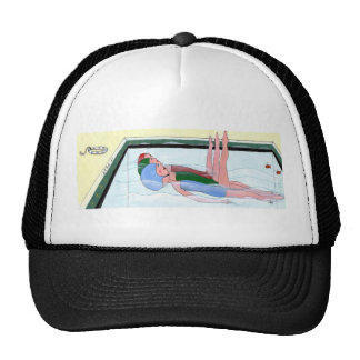 Synchronized Swimming Cap Hats