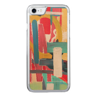 Synesthesia Abstract Art Carved iPhone 8/7 Case