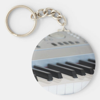 Synthesizer keyboard key ring