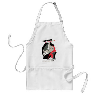 Syphilis ~ Menace to Industry Adult Apron