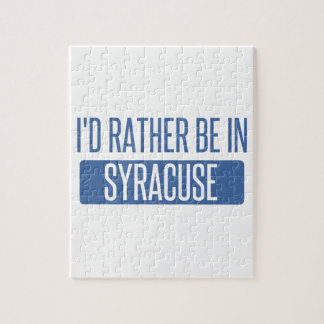 Syracuse Jigsaw Puzzle