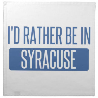 Syracuse Napkin