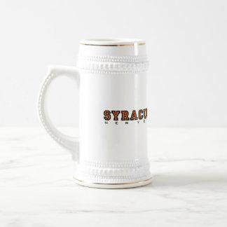 Syracuse, New York - Ltrs2 Beer Stein