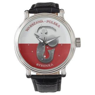 Syrenka - Warszawa - Polska Watch