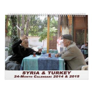 Syria and Turkey Calendar - 24 month